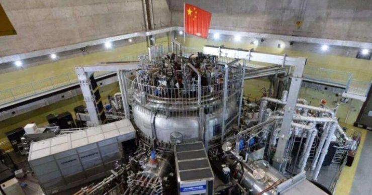 """Çin """"Yapay Güneş"""" Füzyon Reaktörüne Güç Verdi"""