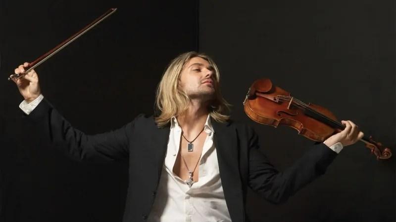 Violinist David Garrett's