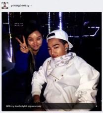 Alive GALAXY Tour Final Seoul Taeyang Instagram Gee Eun