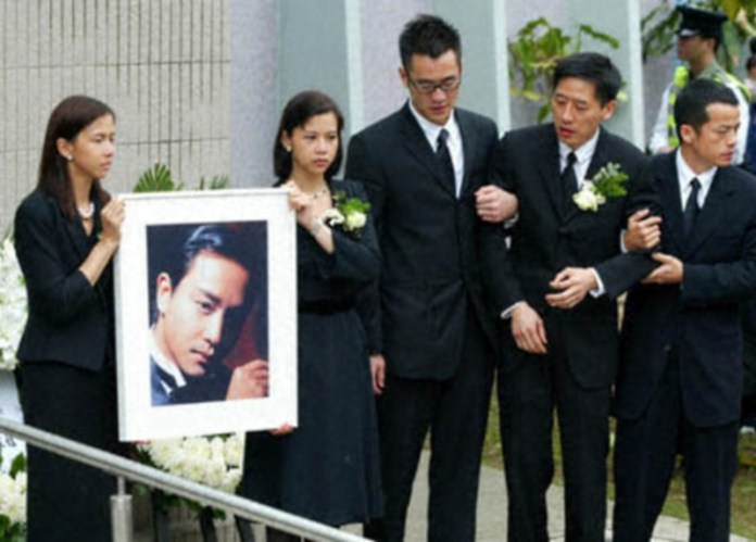 Leslie Cheung Funeral