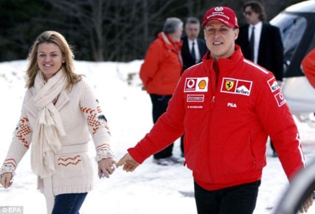 Michael Schumacher & wife Corinna