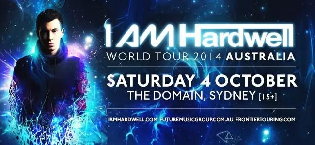 I Am Hardwell Sydney Australia