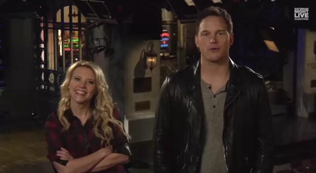 Chris Pratt SNL promo