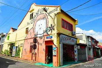 Malacca Orangutan Street Art