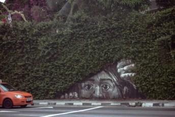 Peekaboo Street Art Kuala Lumpur