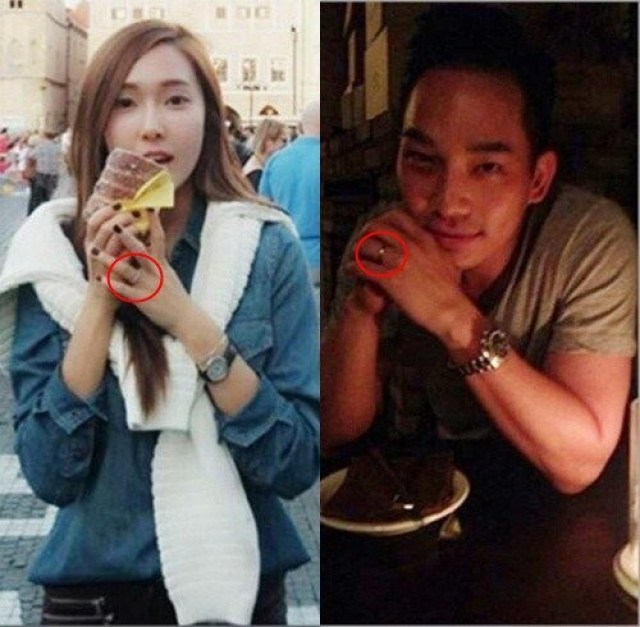 SNSD Jessica and Tyler Kwon