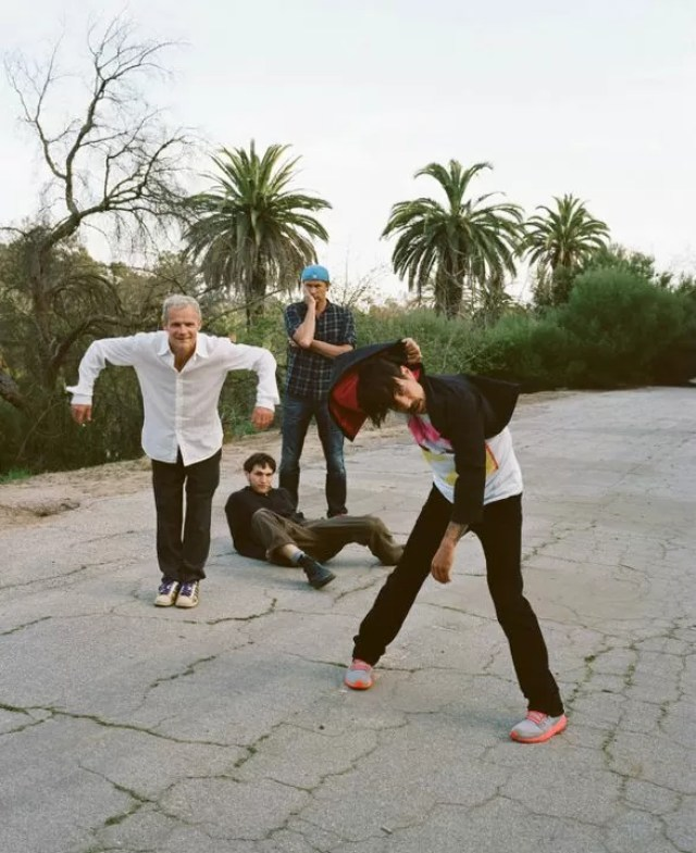 Photo via Red Hot Chili Peppers on Facebook