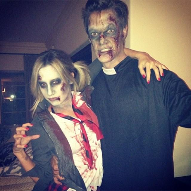 Ashley Tisdale Halloween 2013