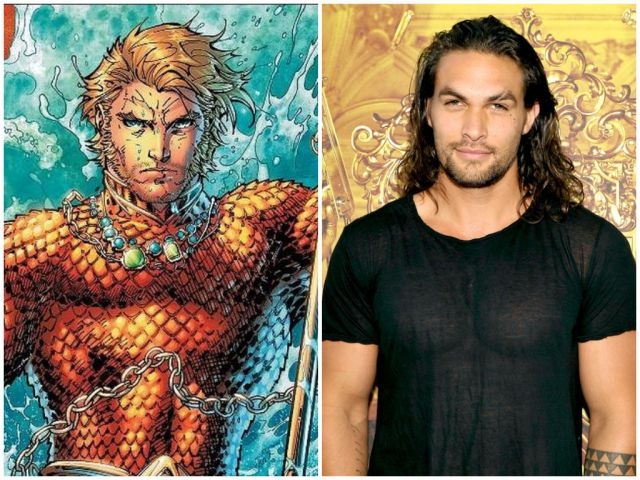 Jason Momoa as DC's Aquaman