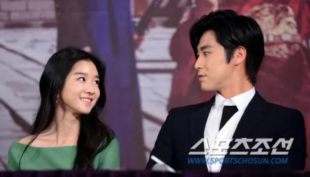 Jung Yunho and Seo Yeji