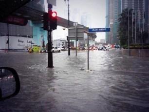 KL Flash Flood Cars Jalan Ampang October 2014