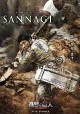 Attack on Titan Movie - Satoru Matsuo as Sannagi