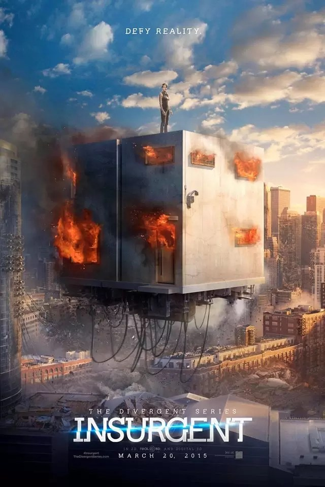 Divergent - Insurgent Defy Reality