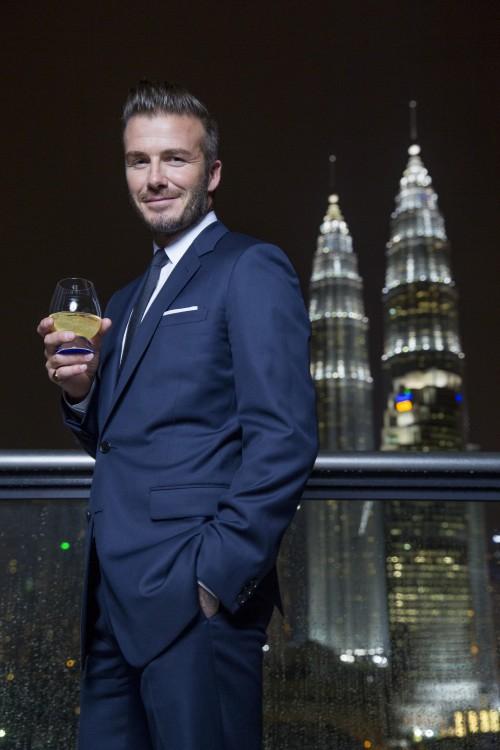 David Beckham welcomes Haig Club to Malaysia