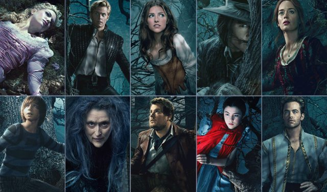 Into The Woods Characters Cast