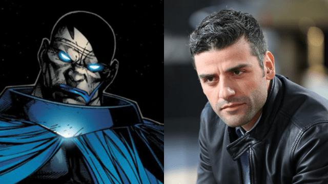 Oscar Isaac as X-Men's Apocalypse