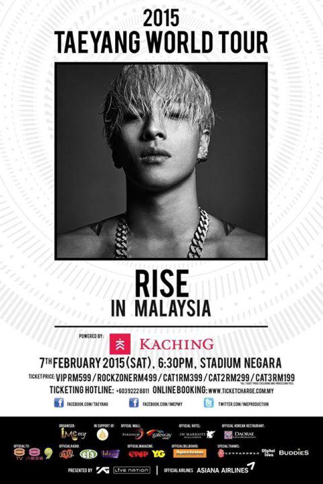 Taeyang Concert in Malaysia 2015