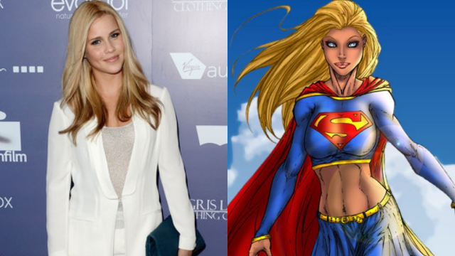 Claire Holt as Supergirl
