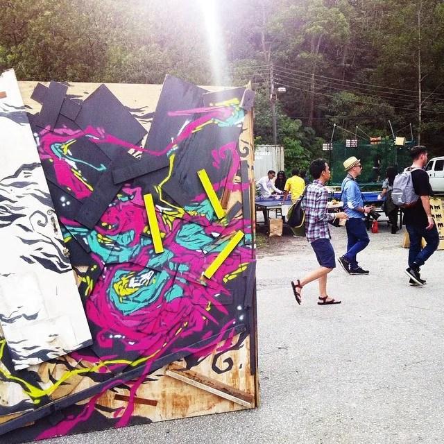 Urbanscapes 2014 - Art Installation