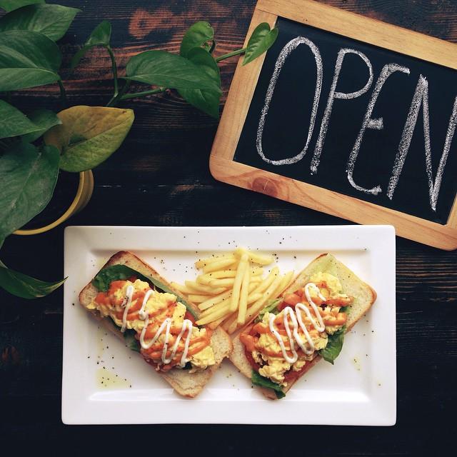Podgy & The Banker - Open Sandwich