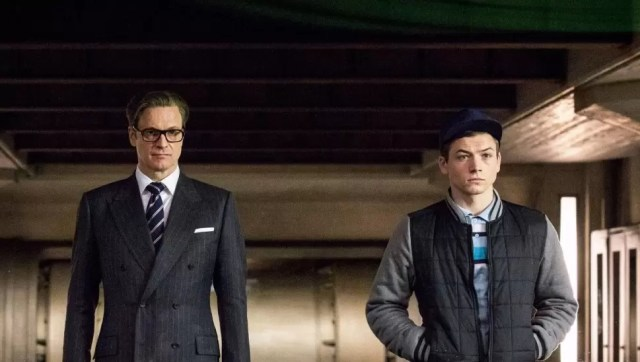 Kingsman Eggsy and Harry