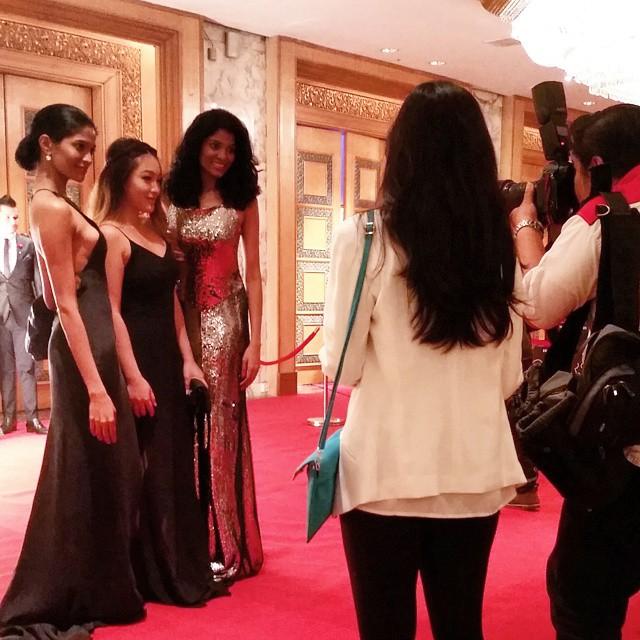 Oscars 2015 Breakfast with the Stars - Thanuja & Anuja