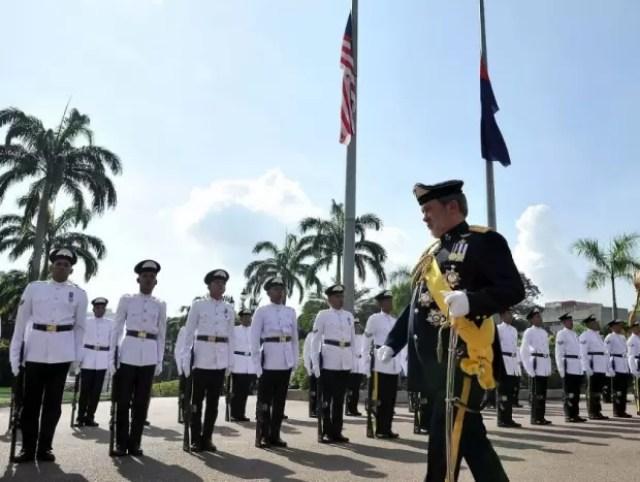 Johor Sultan's coronation