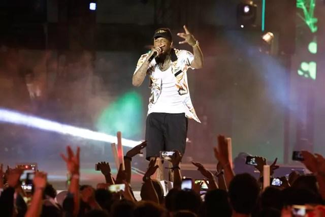 YG at MTV Music Evo 2015