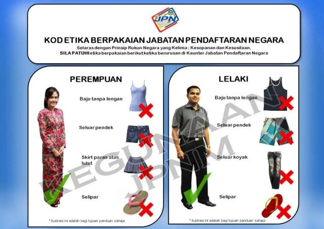 Dressing Etiquette JPN Malaysia