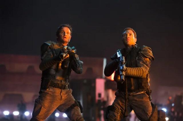 Terminator Genisys Jason Clarke and Jai Courtney