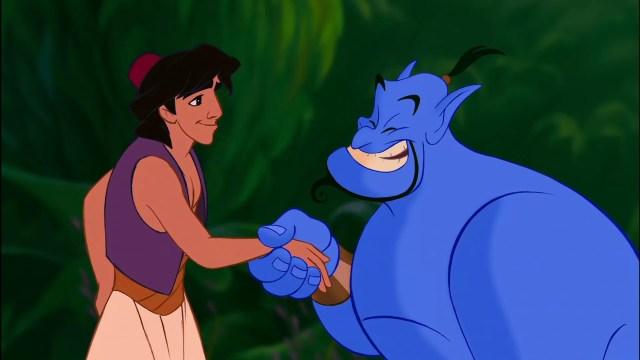 Aladdin and Genie