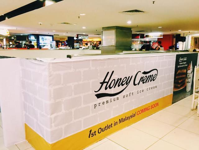 Honey Creme Premium Ice Cream In Penang