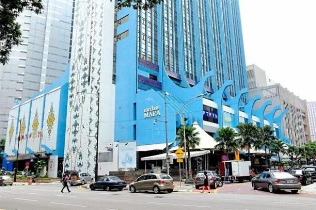 MARA building on Jalan Raja Laut