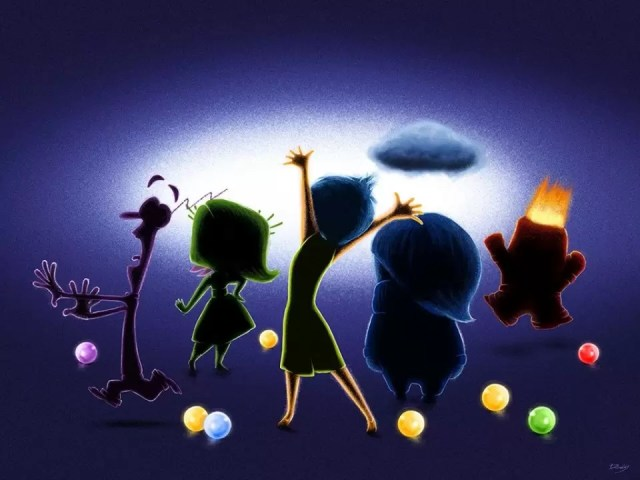 Pixar Inside Out Emotions