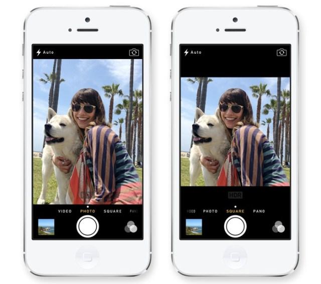 iOS Square Camera