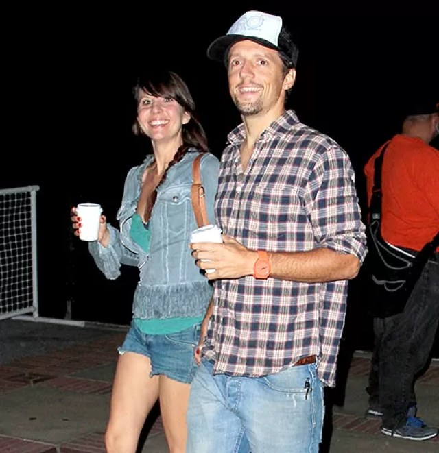 Jason Mraz and Christina Carano