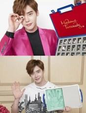 Lee Jong Suk Madame Tussauds HK 3