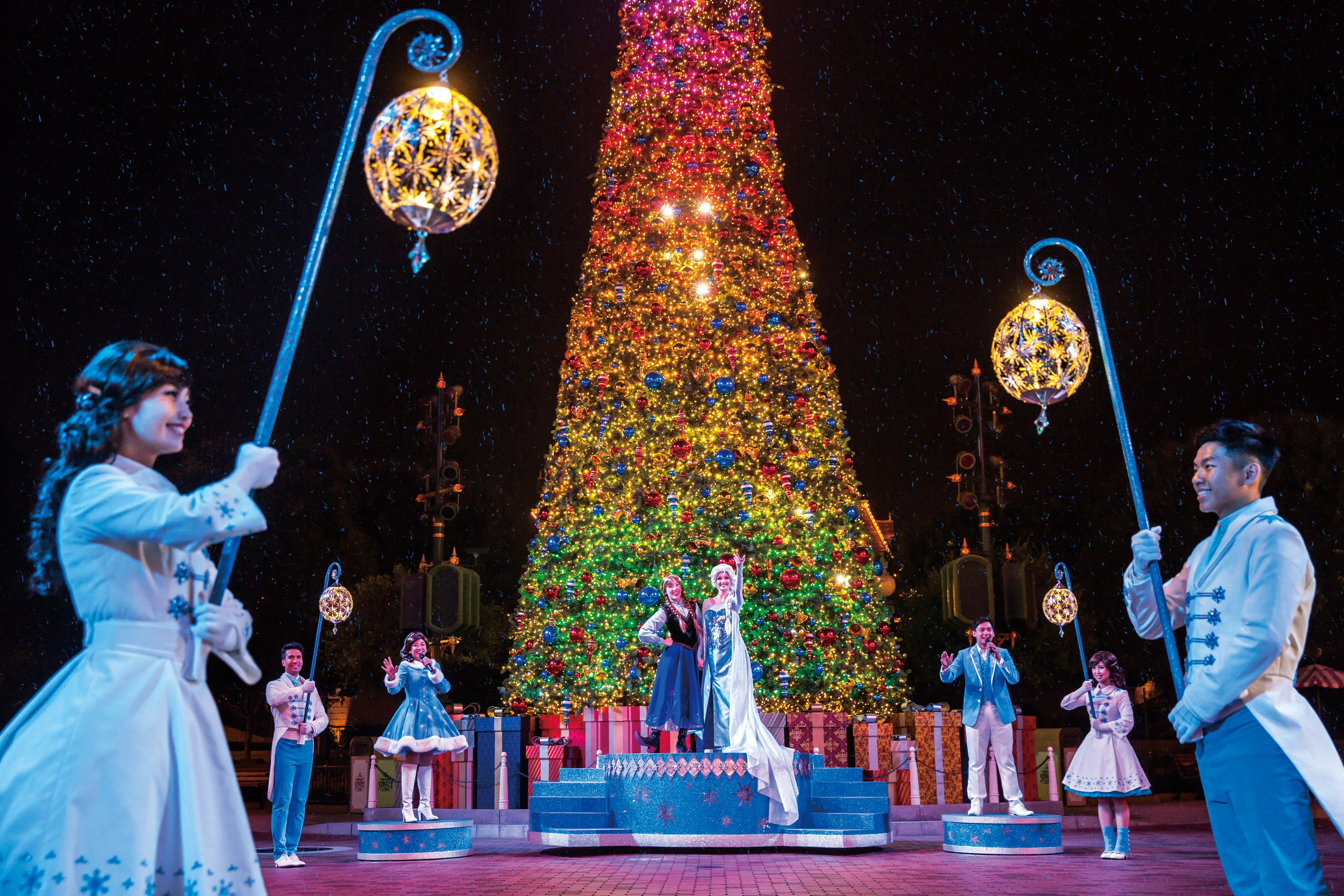 Christmas In Disneyland Hong Kong.Hkdisneyland Hong Kong Disneyland S 10th Anniversary With A