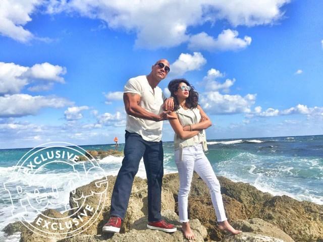 Baywatch The Rock Priyanka Chopra