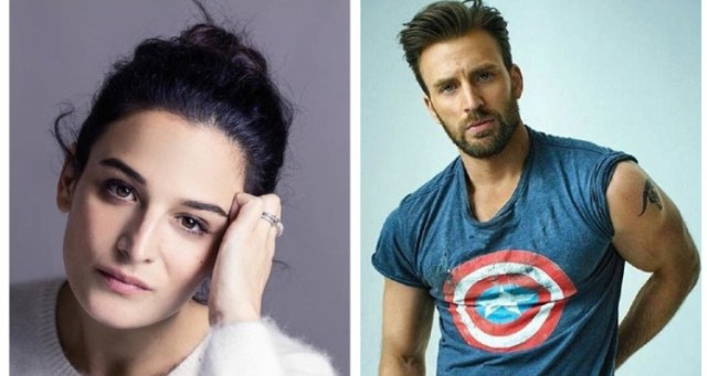 Chris-and-Jenny Credits- Instagram:jennyslate and teamchrisevans