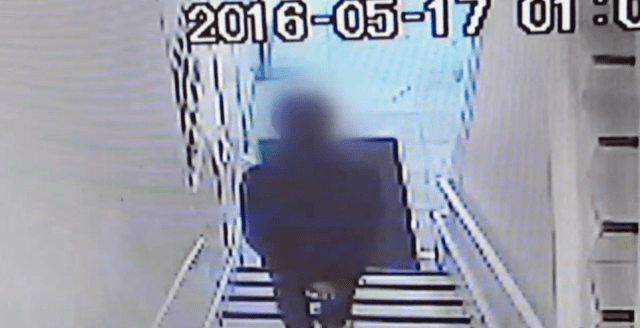 The suspect (Source: YouTube Screenshot)