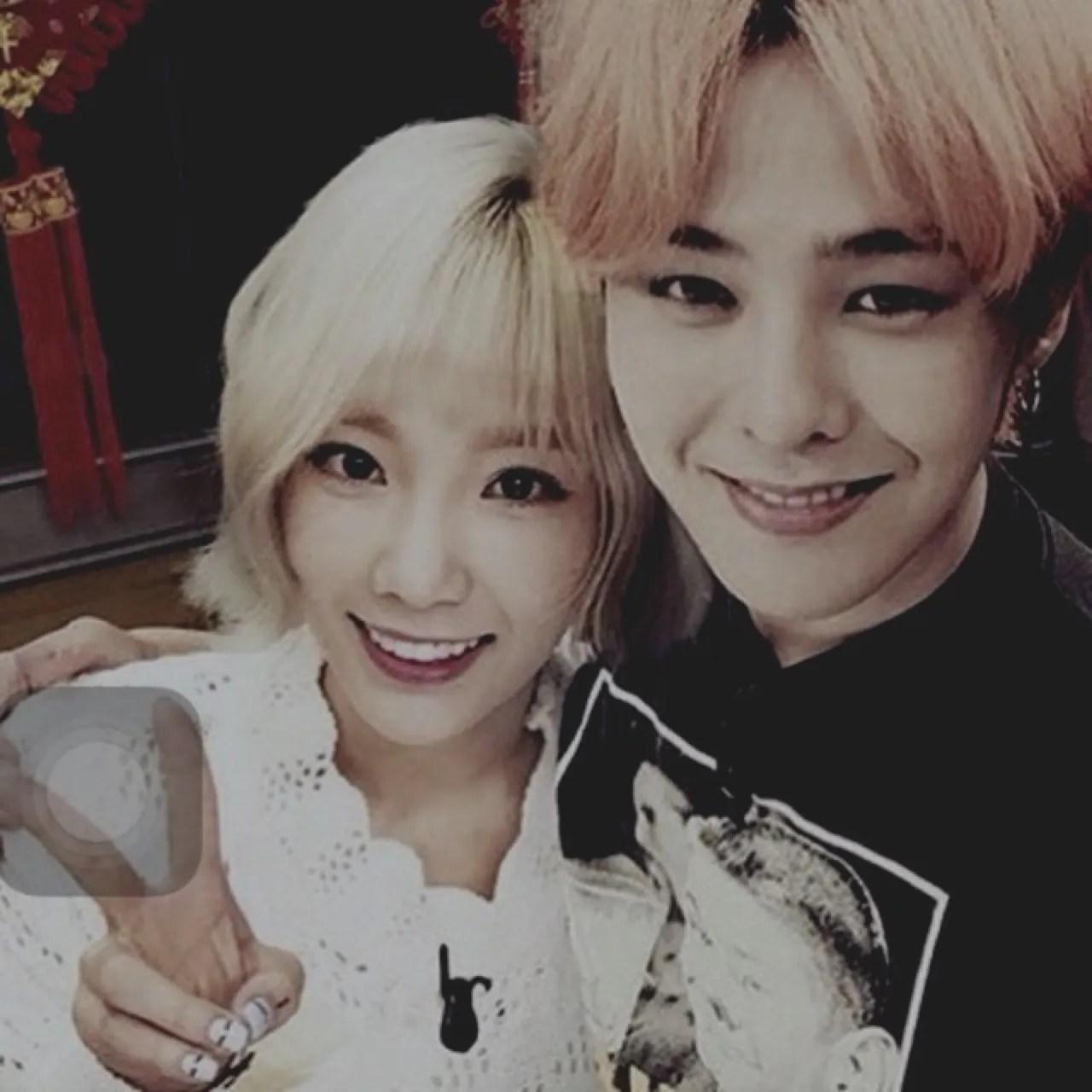 KPop: Fans Present Evidence That BIGBANG's G-Dragon & SNSD's Taeyeon