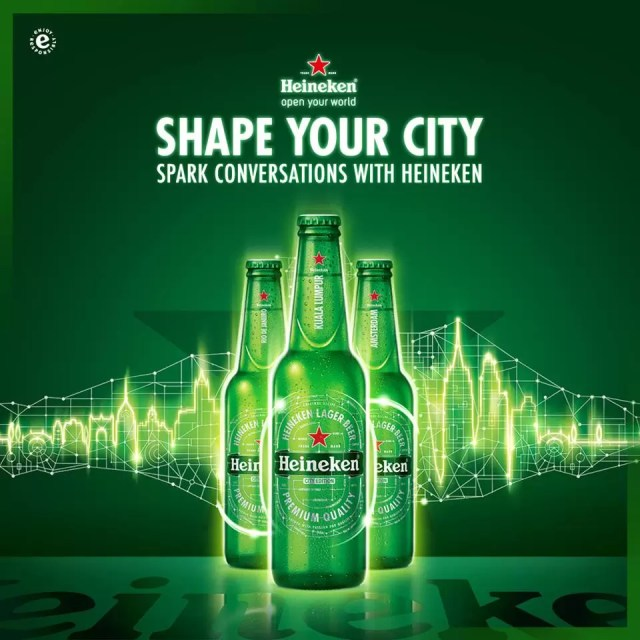 Heineken Shape Your City