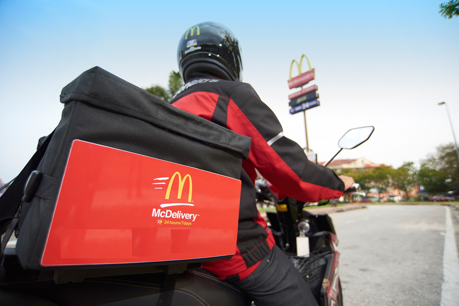 Image result for mcdelivery service