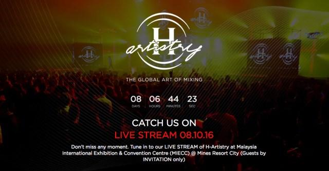 H-Artistry 2016 Live Stream