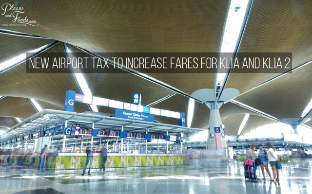 klia-airport-tax Places & Foods