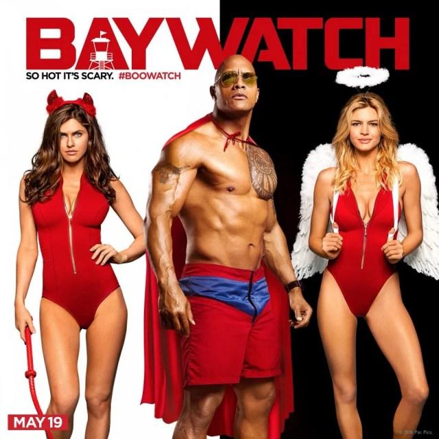Baywatch-Halloween-Poster-Dwayne-Johnson (1)
