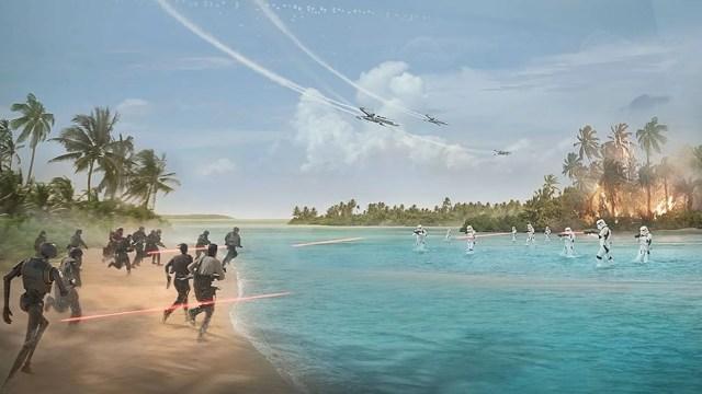 Star Wars Rogue One Maldives