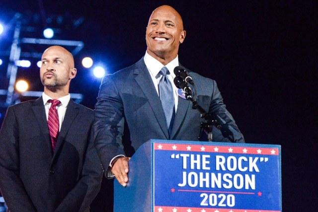 The Rock President