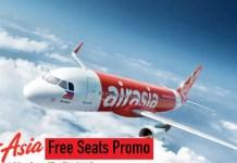 AirAsia Free Seats 2018 2019